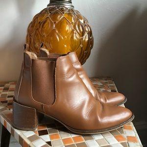 Everlane Cognac Heel Boot